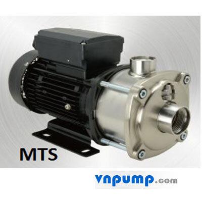 Máy bơm ly tâm trục ngang đa tầng cánh APP MTS-55 1.5HP
