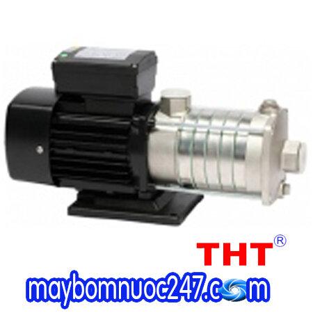 Máy bơm ly tâm trục ngang đa tầng cánh đầu inox THT DH 4-40 1HP