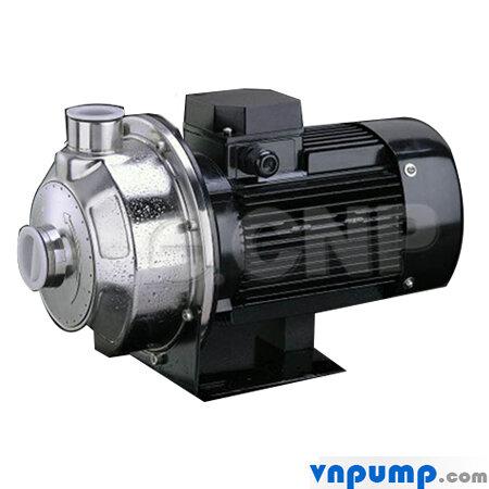Máy bơm ly tâm trục ngang đầu inox CNP MS60/0.37 0.50HP 380V