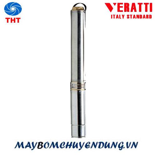 Máy bơm nước giếng khoan 3 inch Veratti 3SDM2.5/28-1.1 1.5 HP