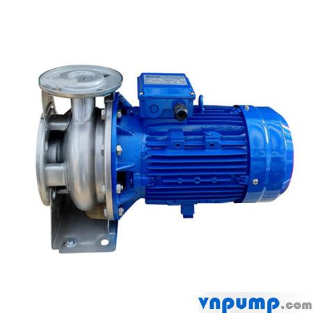 Máy bơm nước ly tâm trục ngang đầu inox Ebara 3M 65-200/18.5 25HP