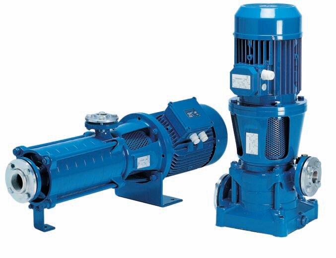 Máy bơm nước ly tâm trục ngang đa tầng cánh Pentax MSHC 6/37 - 50HP