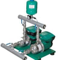 Máy bơm tăng áp tích hợp biến tần chịu nhiệt Wilo PBI-LD405EA - 3kW