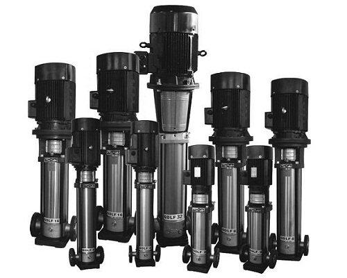Máy bơm trục đứngCNP CDLF 16-5 - 7.5HP