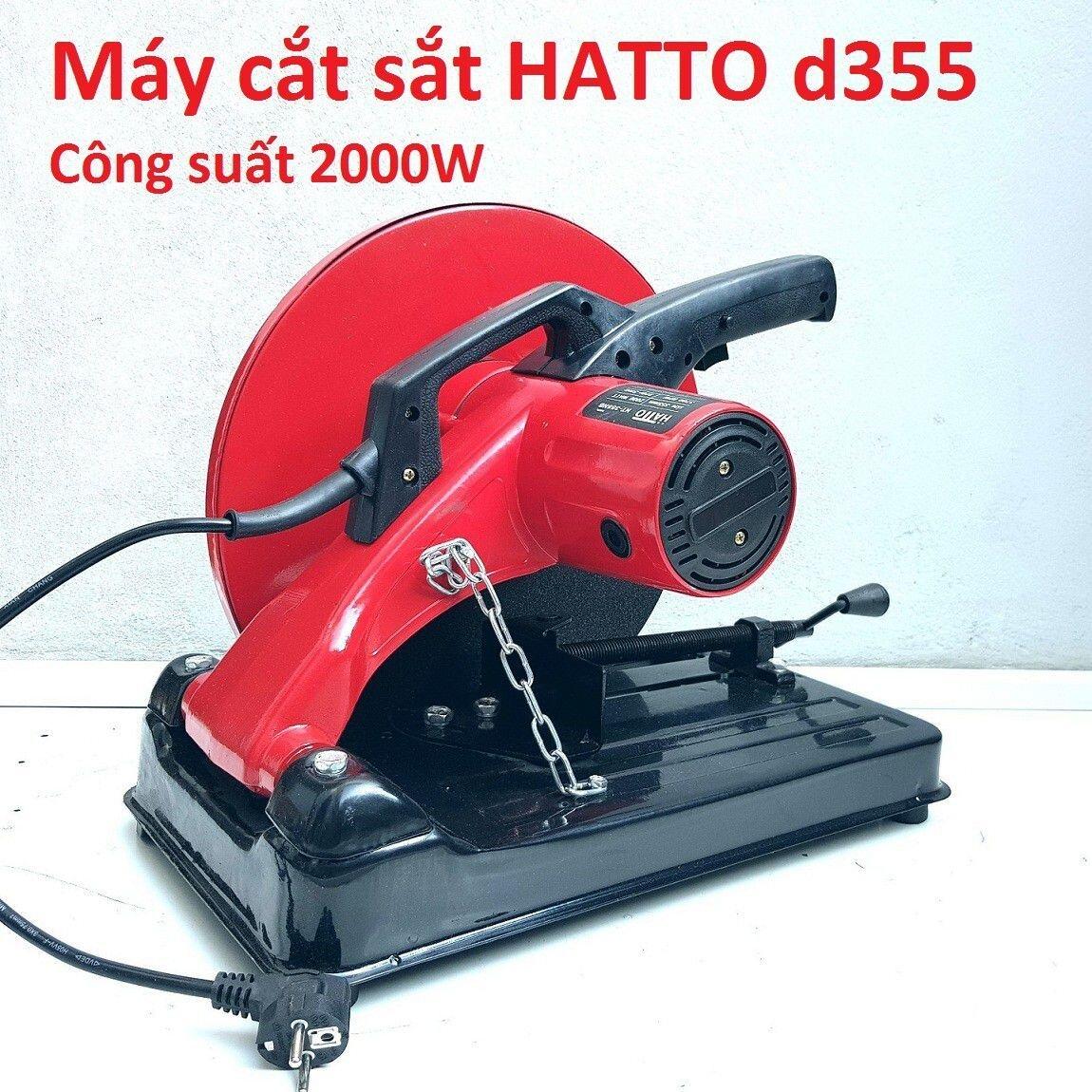Máy cắt sắt Hatto d355, 2000W