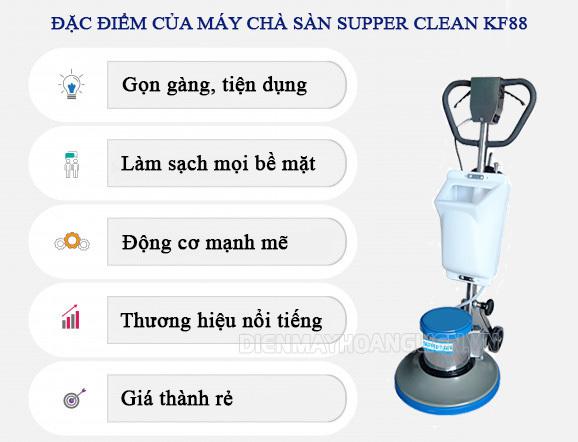 Máy chà sàn Supper Clean KF88