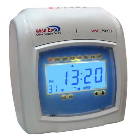 Máy chấm công thẻ giấy Wise Eye WSE-7500D
