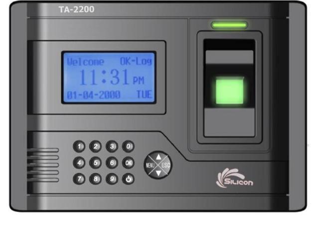 Máy chấm công vân tay Silicon TA2200 (TA-2200)