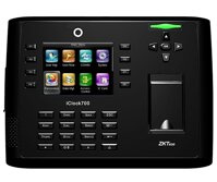 Máy chấm công vân tay và thẻ ZKTeco Iclock 700