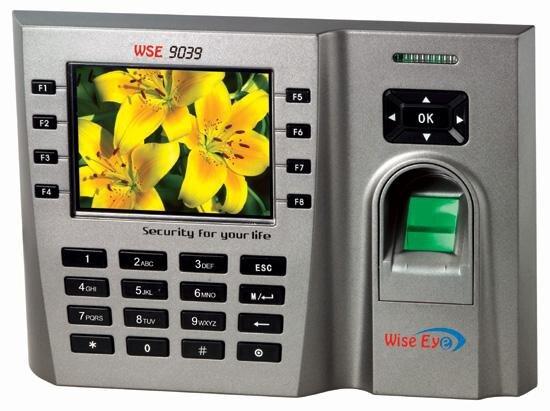 Máy chấm công vân tay và thẻ cảm ứng Wise Eye WSE9039 (WSE-9039)