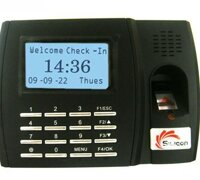 Máy chấm công vân tay và thẻ cảm ứng Silicon FTA-5000T+ID