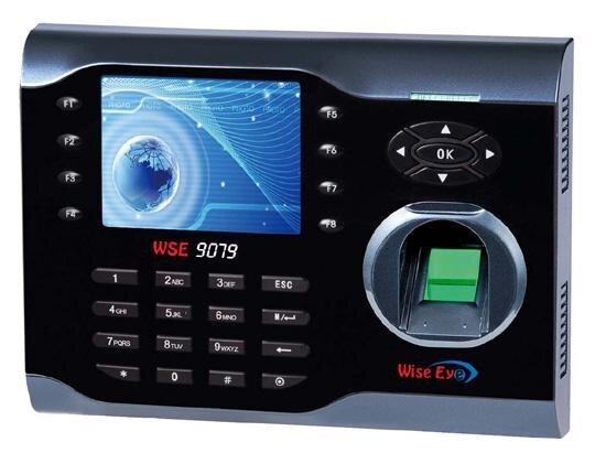 Máy chấm công vân tay và thẻ cảm ứng Wise Eye WSE-9079