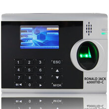 Máy chấm công vân tay và thẻ cảm ứng Ronald Jack 4000TID-C (4000-TIDC)