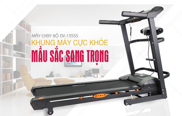 Máy chạy bộ điện đa năng Đại Việt DV 1355S