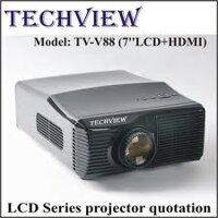 Máy chiếu Techview TV-V88 (7''LCD+HDMI) White