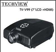 Máy chiếu Techview TV-V99 (7''LCD+HDMI)