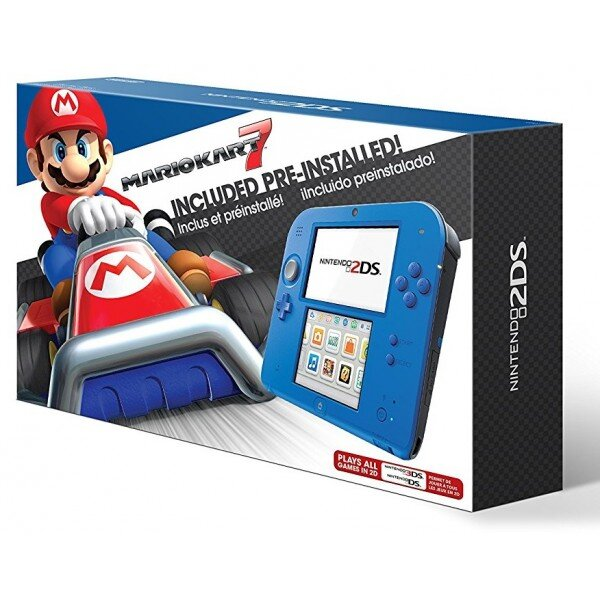 Máy chơi game Nintendo 2DS Blue with Mario Kart 7 (USA)