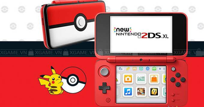 Máy chơi game Nintendo New 2DS XL Limited Poke Ball edition ( US )
