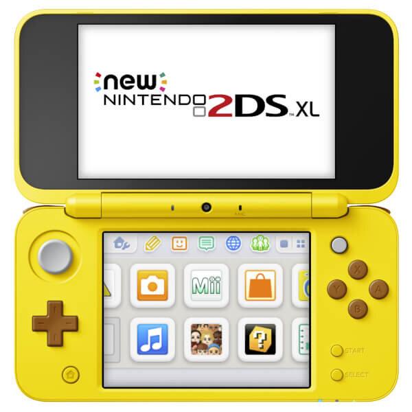 Máy chơi game Nintendo New 2DS XL Limited Pikachu edition ( US )