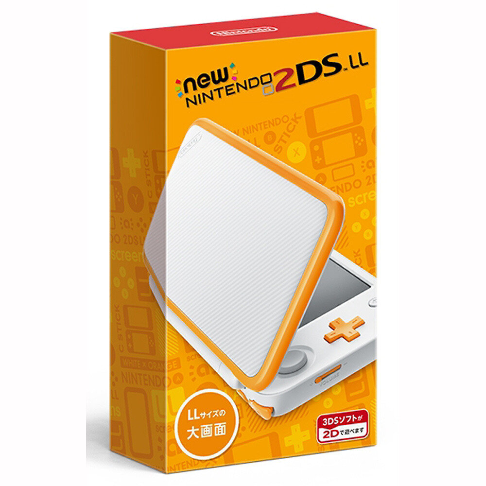 Máy chơi game Nintendo New 2DS XL white + orange