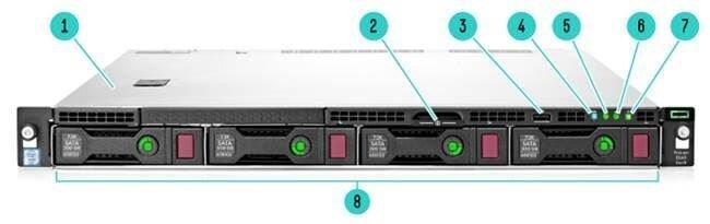 Máy chủ HPE ProLiant DL60 G9 E5-2609v3