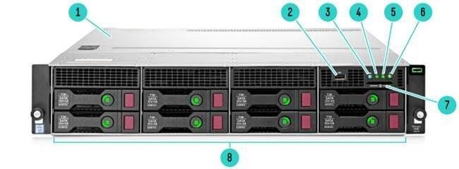 Máy chủ HPE ProLiant DL80 G9 E5-2609v3