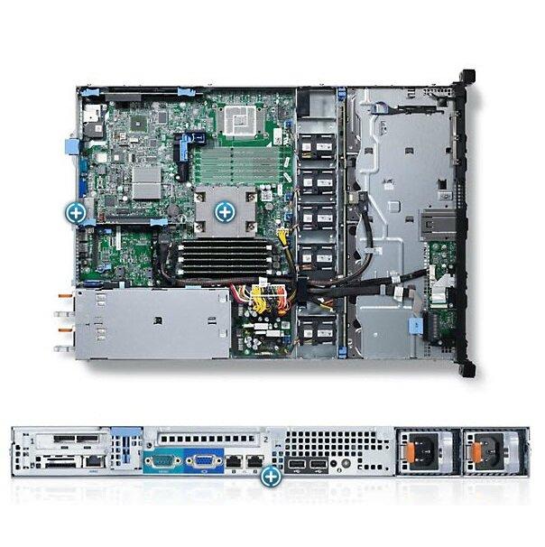 Máy chủ server Dell PowerEdge R320 E5-2407v2 - Intel Xeon E5-2407v2 2.40GHz