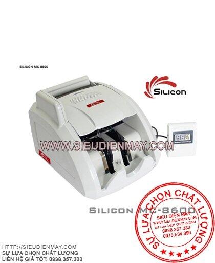 Máy đếm tiền phát hiện tiền giả Silicon MC-8600