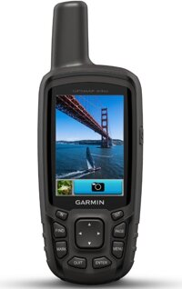 Máy định vị cầm tay GPS Garmin GPSMAP 64SC