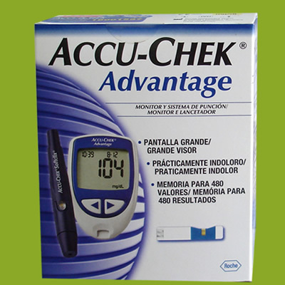 Máy đo đường huyết Accu-chek Advantage