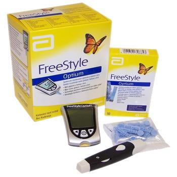 Máy đo đường huyết Freestyle Optium