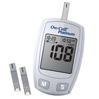 Máy đo đường huyết On-Call Platinum