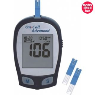 Máy đo đường huyết Oncall Advanced