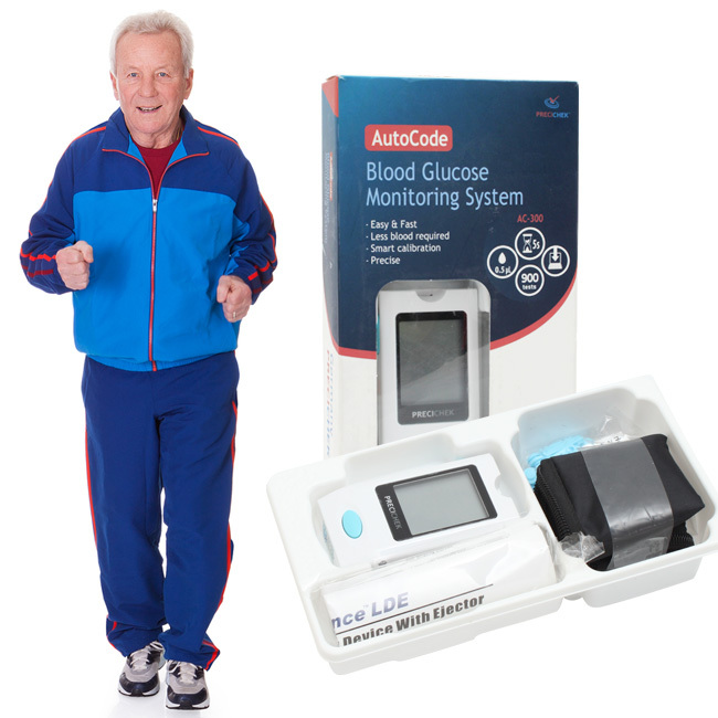 Máy đo đường huyết PreciChek AC-300 nhập khẩu từ Đức