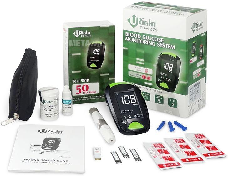 Máy đo đường huyết URight TD4279