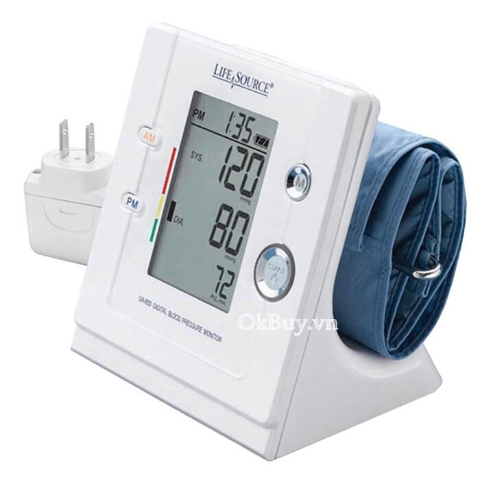 Máy đo huyết áp bắp tay tự động AND UA-853