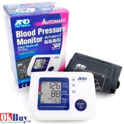 Máy đo huyết áp bắp tay tự động AND UA-1010