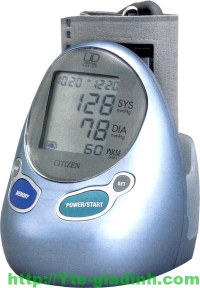 Máy đo huyết áp bắp tay Citizen CH-485E