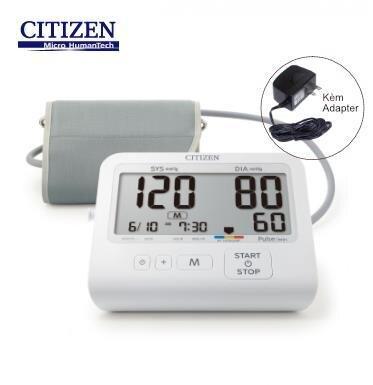 Máy đo huyết áp điện tử bắp tay Citizen CHU-503