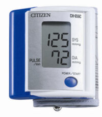 Máy đo huyết áp điện tử cổ tay Citizen CH-656C