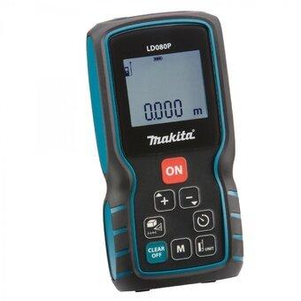 Máy đo khoảng cách bằng laser Makita LD080P (Xanh đen)