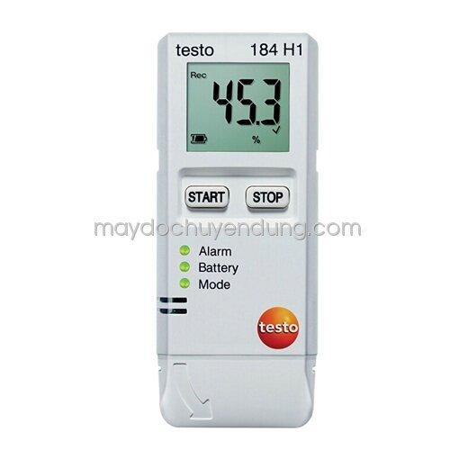 Máy đo nhiệt độ, độ ẩm  Testo 184 H1