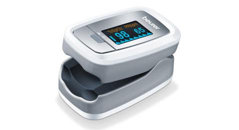 Máy đo nhịp tim và khí máu Beurer P080
