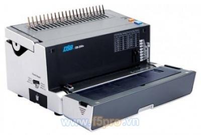 Máy đóng sách gáy xoắn nhựa DSB CB200E (CB-200E)