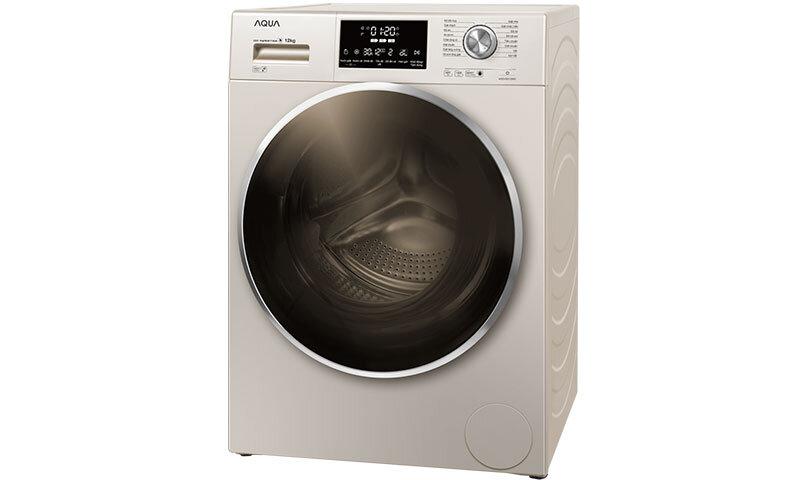 Máy giặt Aqua AQD-DD1200C - lồng ngang, inverter, 12kg