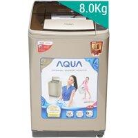 Máy giặt Aqua AQW-U800Z1T - Lồng nghiêng, 8 Kg, Màu S/N