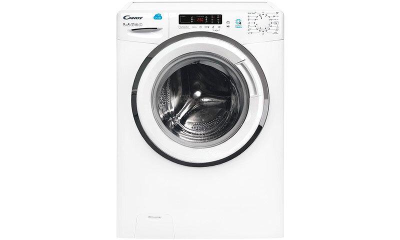Máy giặt Candy HSC 1282D3Q/1-S - cửa ngang, 8kg
