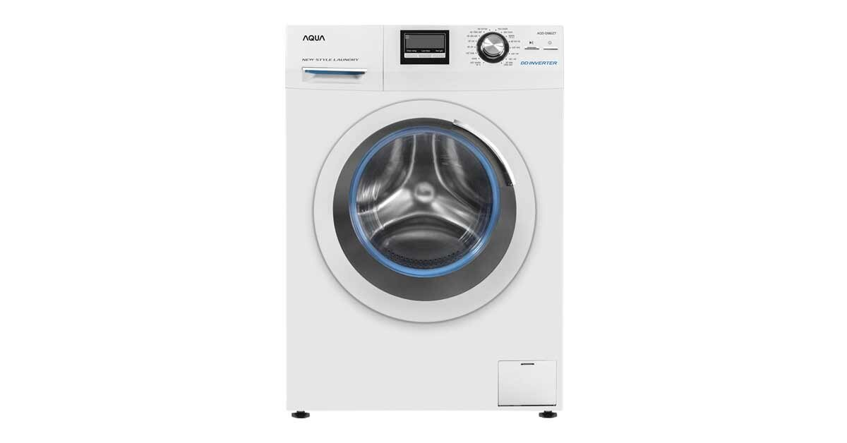 Máy giặt cửa ngang Aqua AQD-D980ZT - 9kg