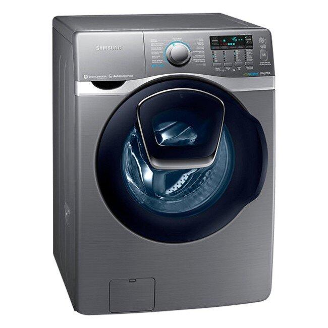 Máy giặt cửa trước Samsung Addwash WD17J7825KP - lồng ngang, 17Kg