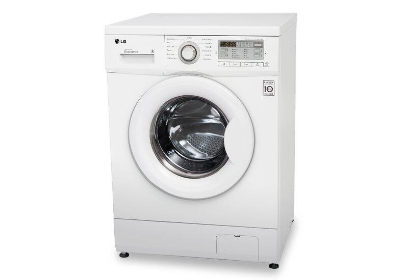 Máy giặt LG F1407NMPW - Lồng ngang, 7kg, dẫn động trực tiếp, 6 motion